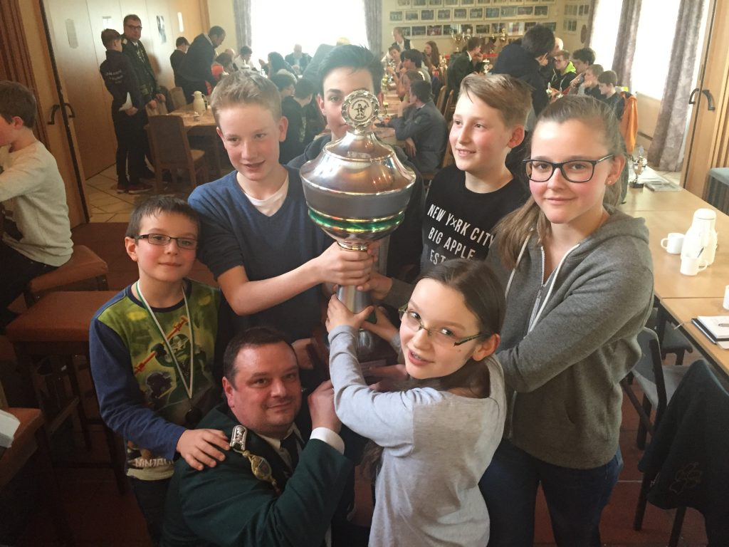 Jugendabteilung der SG Eilshausen